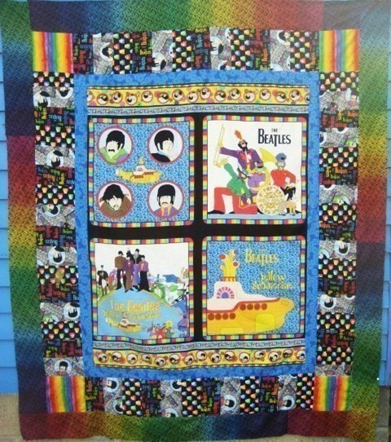 Quilt Kit Beatles Yellow Submarine