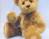 """Bear SEWING PATTERN 22"""" Jointed Mohair Teddy with Flex Arms FRAZIER"""