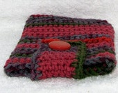Nook Simple Touch/ Kindle Touch Cozy - Pomegranate Stripe