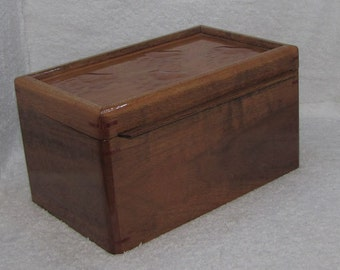 Handmade Jewelry/Treasure Box with removable tray