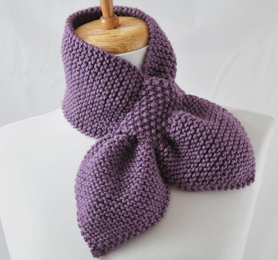 Knitting Pattern Only Stay Put Scarf