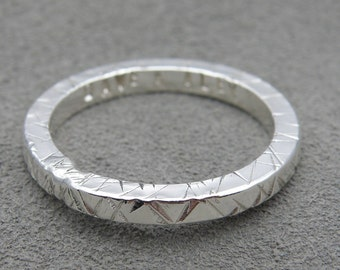 Large Sterling Silver Ring For Him