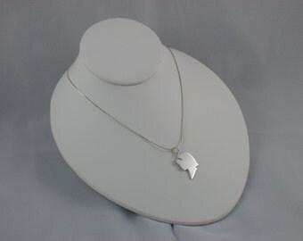 Sterling Silver Die-Cut Silhouette Pendant