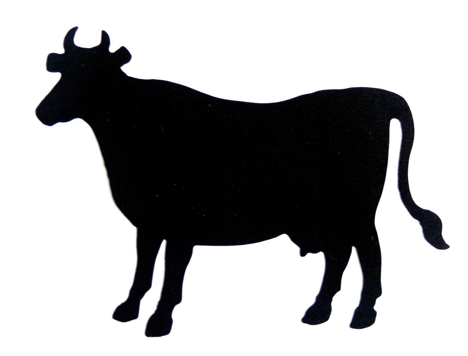 Cow Chalkboard Sticker