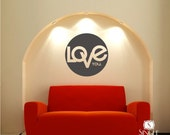Love You Wall Decal Quotes - Vinyl Text Wall Sticker
