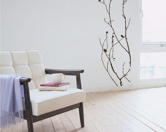 Tree Wall Decal Nature's Elegance - Vinyl Wall Stickers Art Graphics