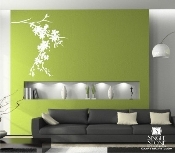 Wall Decals Blossoming Branch -  Wall Stickers Art