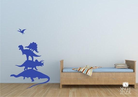 Wall Decals Dinosaur Stack Pack - Wall Sticker  Art Graphics