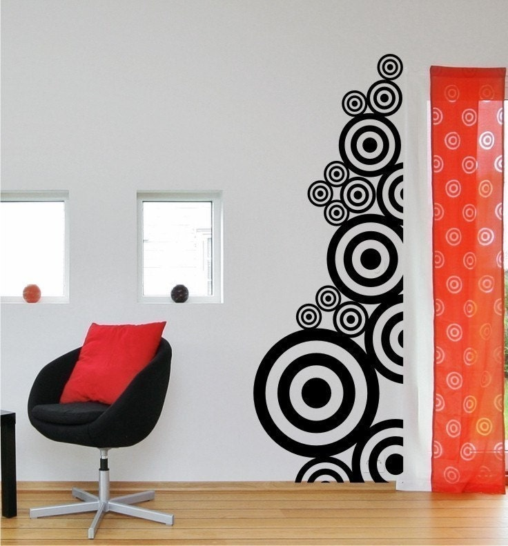 ... Vinyl Wall Decals Stickers Art Graphics Circle Circles. 🔎zoom