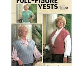Full-Figured Vests to Knit   LA Leaflet 547