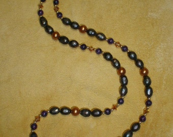 Purple Pearl Passion Necklace