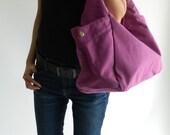 SALE - 10% OFF -  Renee in Purple - Tote/ shoulder bag