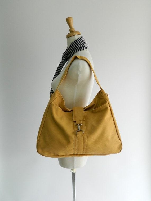 Ashley in Yellow Mustard Messenger bag /Diaper bag / Tote bag /Purse / Handbag/ Women/ Gift for her/ School bag / Back to school SALE 25%