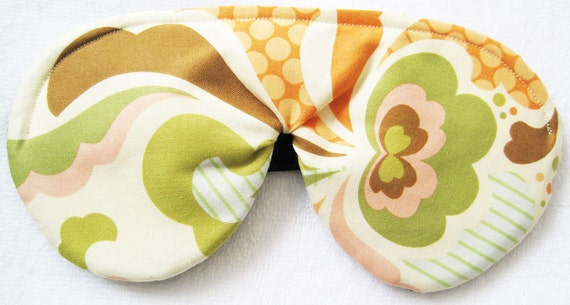 As Featured on GLO.com  Eco Friendly- Bamboo Sleep Mask Completely Adjustable