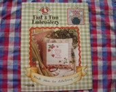 Gooseberry Patch Fast and Fun Embroidery Book