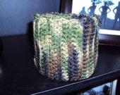 Camo Crochet Scarf