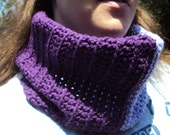 Two Toned Purple Cowl