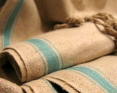 RESERVED LISTING Antique French Linen Hemp Flax