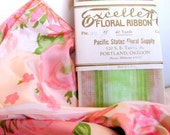 Vintage Floral Ribbon Supplies