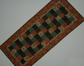 Quilted Table Runner - Five Patch - Up North (UNTRF)