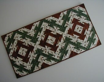 Quilted Table Runner - Indian Hatchet (UNTRI)