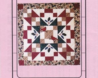 Cardinal Star Quilt Pattern by Sandra Dockstader (D-005)