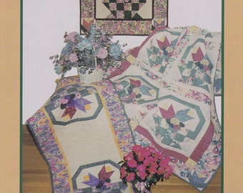 PosieBaskets Quilt Pattern by PineTree Lodge Designs (D-025)