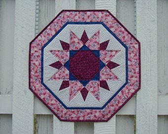 Quilted Sun Burst Table Topper (EDTTN)