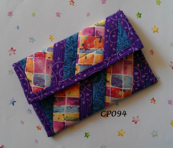 Quilted Coin Purse (CP094)