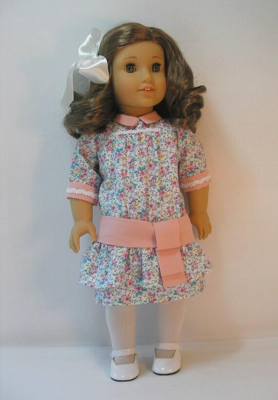 1914-108   18 Inch Doll Clothes American Girl Rebecca Dress