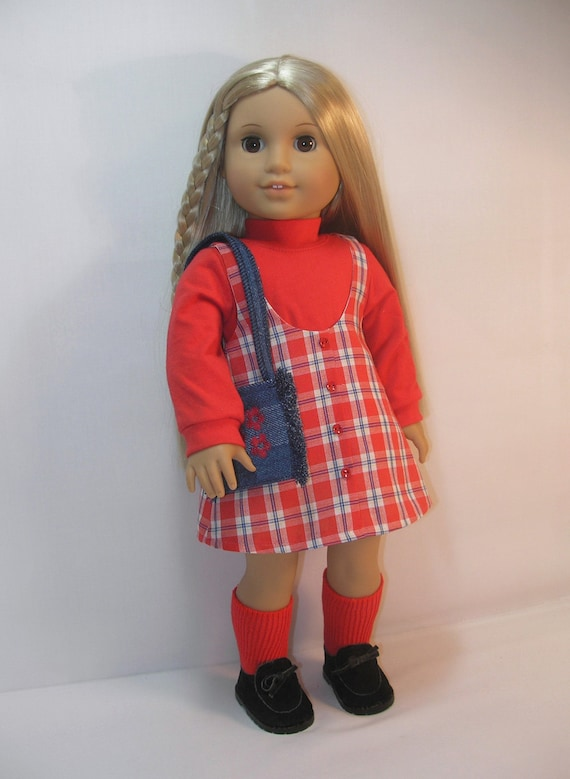 1974-1146 Julie Jumper Outfit for American Girl 18 Inch Doll