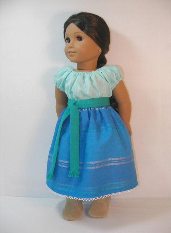 1824 1101 american girl 18 inch doll josefina skirt by terristouch. Black Bedroom Furniture Sets. Home Design Ideas