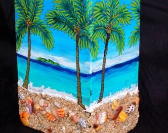 Kauai Sands Glass Vase-Limited Edition 25-numbered-artistsigned