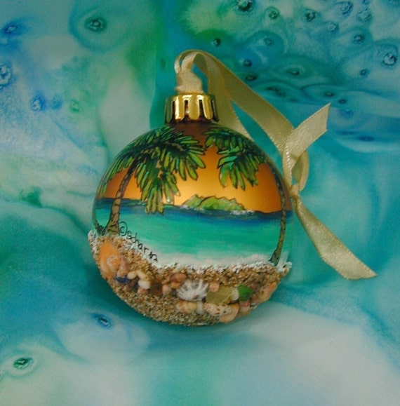 Kauai Sands Ornament-shatterproof-Limited edition 100/ 100