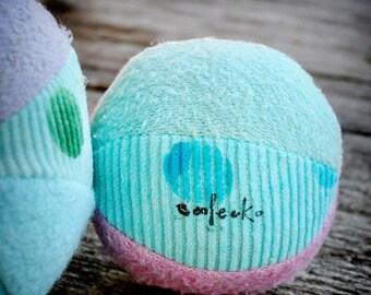 Eco Organic Pastel Play Fabric Ball