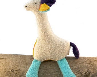 Eco Organic Giraffe Doll Stuffed Animal Toy