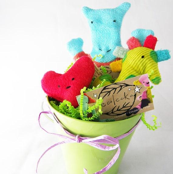 Baby Gift Basket Etsy : Organic baby gift basket eco friendly unisex newborn