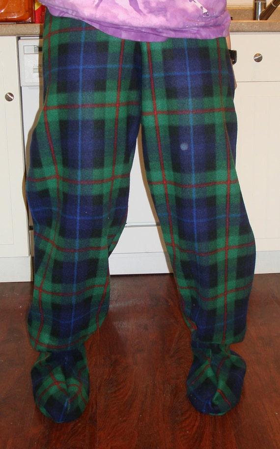 Adult Footed Pajama Pants - Teenage Lesbians-5232