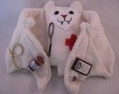 Medical Professional Bat Cup Sleeve/Coffee Cozie/Stuffed Animal