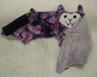 Grapes Bat Coffee Cozy, Cup Sleeve, Stuffed Animal