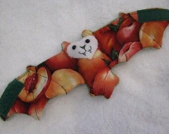 Apricot or Peach Cup Sleeve, Coffee Cozy/ Cozie, Stuffed Animal, Softie