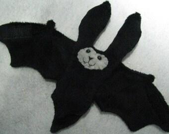 Black Werewolf or Wolf Bat Coffee Sleeve, Cup Sleeve, Stuffed Animal