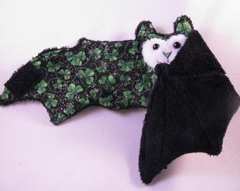 St Patricks Day - Bat Cup Sleeve\/Coffee Cozie\/Stuffed Animal