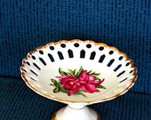 Lovely Floral Candy Dish