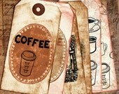 Coffee Lover Tags