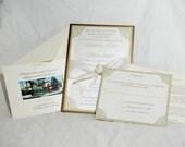 Custom Jeweled Invitation Sample