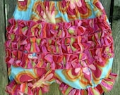 Infant Ruffled Bloomers Cotton Size 18 Months- 1 Left