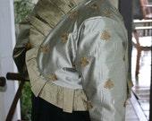 Silver and Bronze Napoleon Bee Bolero Jacket