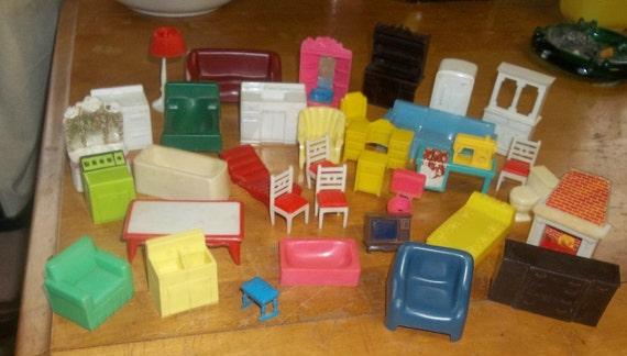 Vintage Mar Doll  House Furniture Christmas Toys