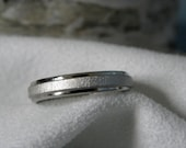 Ring or Wedding Band 4mm Titanium Best Seller